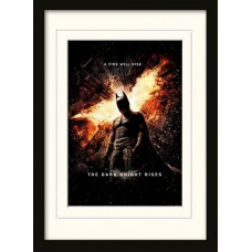 Постер The Dark Knight Rises (A Fire Will Rise)