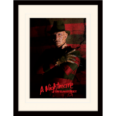 "Постер в раме ""A Nightmare On Elm Street (Freddy Krueger)"""