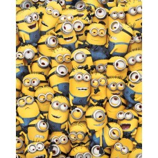 "Постер мини ""Despicable Me (Many Minions)"""