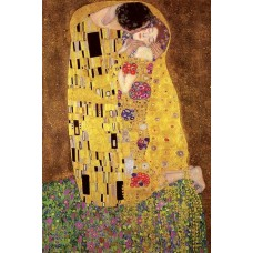 "Постер ""Gustav Klimt's-The Kiss"""