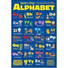 "Постер ""Learn The Alphabet"""
