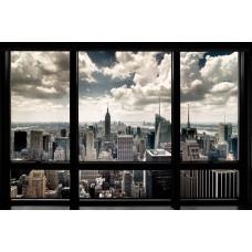 Постер New York Window
