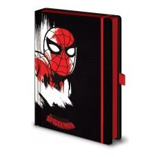 Блокнот Marvel (spider-man) / Марвел (Человек-паук) A5 premium