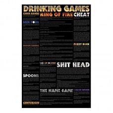 "Постер ""Drinking Games""  61 x 91,5 см"