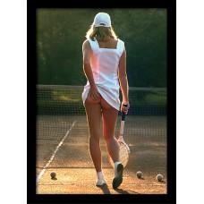 Постер в раме Tennis Girl