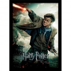 Постер в раме Harry Potter / Гарри Поттер (Deathly Hallows Part 2 - Wand) 30 х 40 см