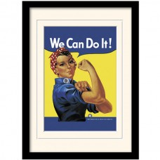 "Постер в раме ""Rosie the Riveter"" 30 x 40 см"