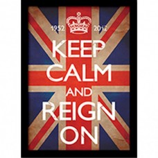 "Постер в раме ""Keep Calm and Reign On"" 30 x 40 см"