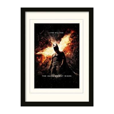 Постер The Dark Knight Rises (A Fire Will Rise) 30 x 40 см