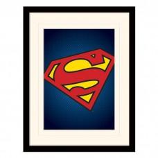 "Постер в раме ""DC Comics (Superman Symbol)"" 30 x 40 см"