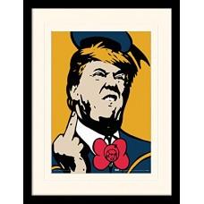 "Постер в раме ""TVBOY (Angry Donald)"""
