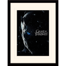 """Постер в раме """"Game Of Thrones (The Night King)"""" 30 x 40 см"""