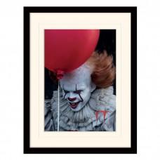 """Постер в раме  """"IT (Pennywise Balloon)"""" 30 x 40 см"""