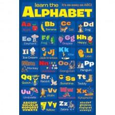 """Постер """"Learn The Alphabet""""  61 x 91,5 см"""