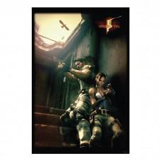 """Постер """"Resident Evil 5 """" 61 x 91,5 см"""