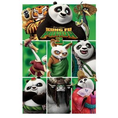 """Постер """"Kung Fu Panda 3"""" 61 x 91,5 cм"""
