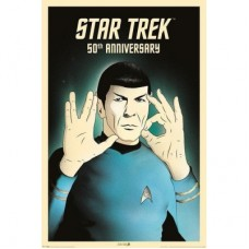 "Постер ""Star Trek (Spock 5-0) 50th Anniversary"" (Акция)"