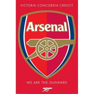 "Постер ""Arsenal FC (Crest)"" 61 x 91,5 cм"