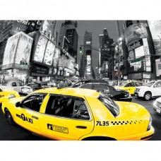 Фотокартина Yellow Cabs