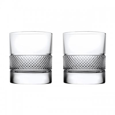 "Набор стаканов для виски "" FIESOLE "" Style Prestigel / 2 шт / 290 мл"