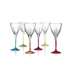 """Набор бокалов для вина """"FUSION"""" RCR Style, 6 шт"""