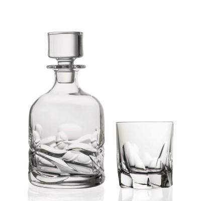 "Набор для виски "" SKULTURA "" Style Prestige / 3 пр / ( графин и 2 стакана )"