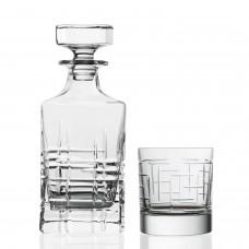 "Набор стаканов для виски "" URBAN "" Style Prestige / 3 пр / ( графин + 2 стакана )"