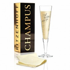 Бокал для шампанского от Natalia Yablunovska (Я говорил звездам о тебе)