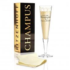 Бокал для шампанского от Natalia Yablunovska (Время пить шампанское)