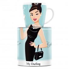 """Чашка для кофе """"My Darling"""" от Astrid Müller 9,5 см"""