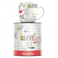 """Чашка для кофе """"My"""" от Concetta Lorenzo 9,5 см"""