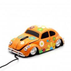 "Компьютерная мышь ""Flower"" оранжевая"