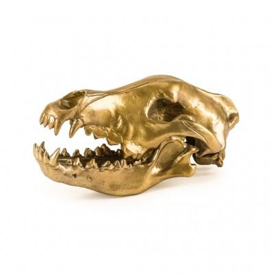 """Фигура волчий череп """"Diesel-wolf skull' 14 x 28 х 12 см"""