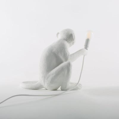 """Лампа """"MONKEY"""", белая"""