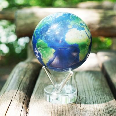 """Гиро-глобус Solar Globe """"Вид из космоса"""" 11,4 см (MG-45-STE-NE)"""