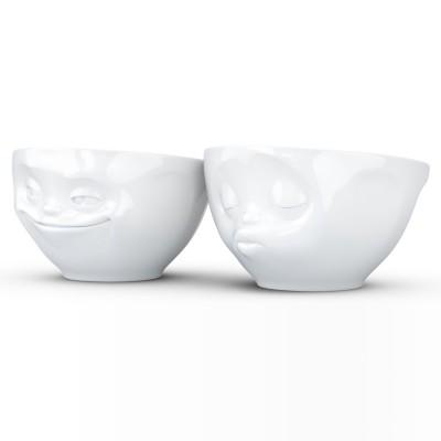 Набор Tassen Поцелуй & Хитрая улыбка из двух фарфоровых пиал (100 мл)
