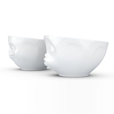 Набор Tassen Поцелуй & Хитрая улыбка из двух фарфоровых пиал (200 мл)