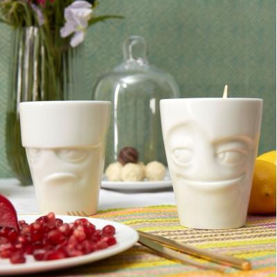 Набор Tassen Ворчун и Шалунишка из двух фарфоровых чашек ( 350 мл)
