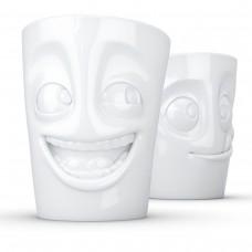 Набор Tassen Шутник и Лакомка из двух фарфоровых чашек ( 350 мл)