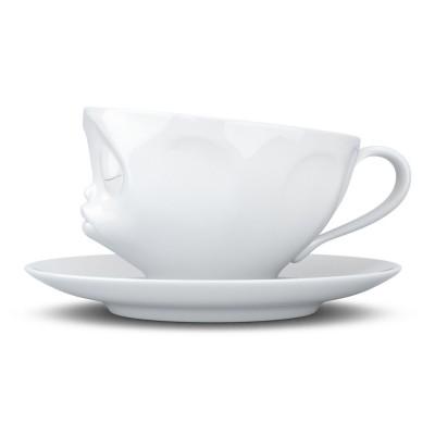 """Чашка с блюдцем для кофе Tassen """"Поцелуй"""" (200 мл), фарфор"""