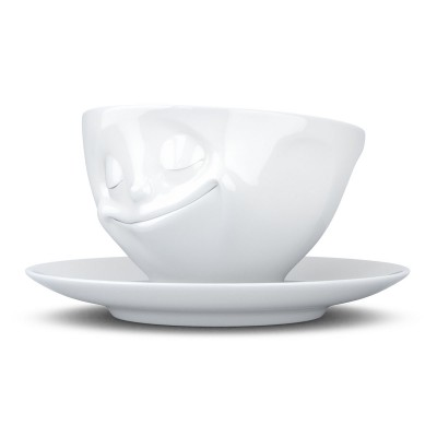 """Чашка с блюдцем для кофе Tassen """"Счастье"""" (200 мл), фарфор"""