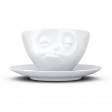 Чашка с блюдцем для кофе Tassen Озадачен (200 мл), фарфор
