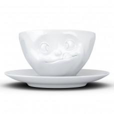 "Чашка с блюдцем для кофе Tassen ""Вкуснятина""(200 мл), фарфор"
