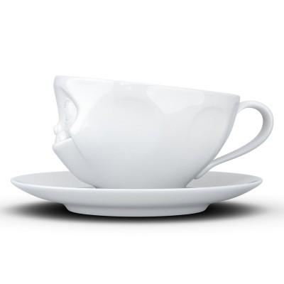 Чашка с блюдцем для кофе Tassen Лакомство (200 мл), фарфор