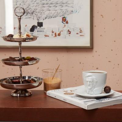 Чашка с блюдцем Tassen Людвиг ван Бетховен (260 мл), фарфор