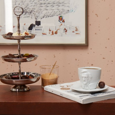 Чашка с блюдцем Tassen Моцарт (260 мл), фарфор