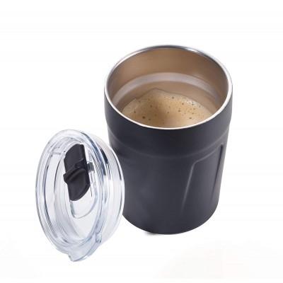 Термочашка для горячих напитков 160 мл черная