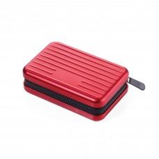 Футляр для кредитных карт с защитой, красный