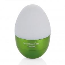 Светильник-ночник Troika Eggtivate, с датчиком вибрации, зеленый