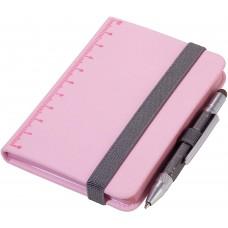 Блокнот Din A7 Lilipad + ручка Liliput, розовый
